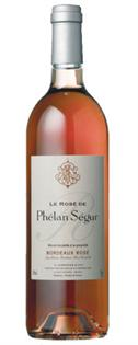 le Rose de Phelan Segur Bordeaux Rose 2007 750ml - Case of...